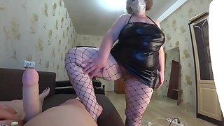 POV.lesbiyanki girlfriend, shaking big boobs, shaking a big ass.