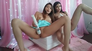 Playtime with Teen Step Sisters Sami and Emily