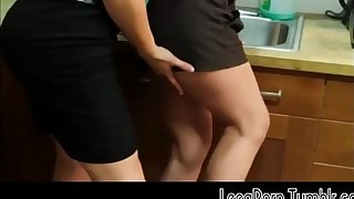 Brunette Opens Her Legs on the Office Kitchen Counter Lesbian Mobile Free Porn HD
