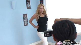 Drag queen sluts Jennifer Best and Nicole Ferrera
