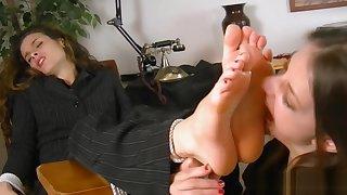 passionate foot worship