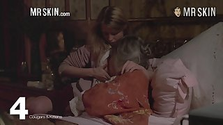 Claudia Karvan and other unconcealed celebrities compilation video