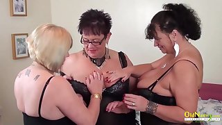 Auntie Trisha Lesbian Party Addiction