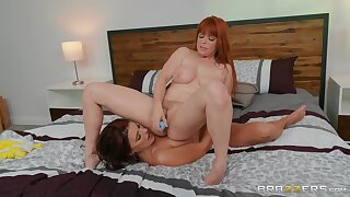 Sapphic Adriana Fucks Pennys Ass Connected with A Strap-on Be Connected with Penny Pax And Adriana Chechik